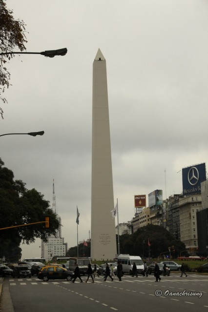 Obeliscul, Buenos Aires