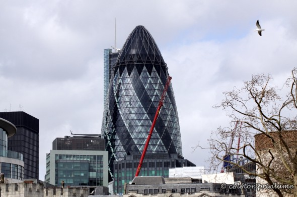 Swiss Re Tower Jerkins London