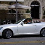 Driving on Ocean Drive