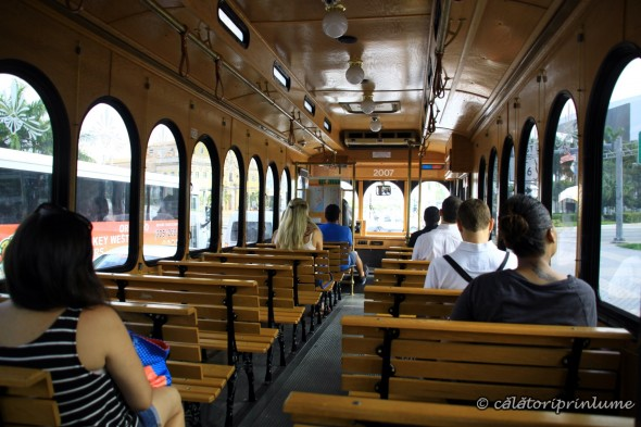 Trolley gratuit Miami downtown