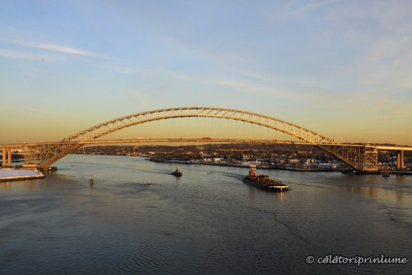 Bayonne Bridge by sunset New Jersey