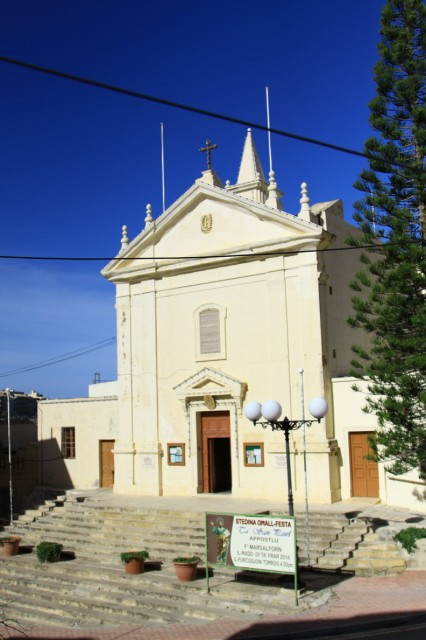 Marsalforn Church Gozo