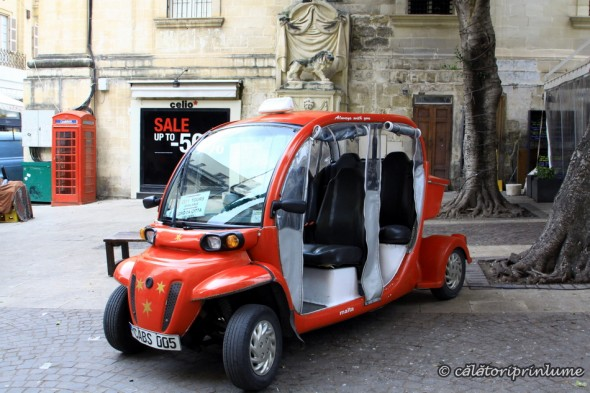 electric cab Valetta