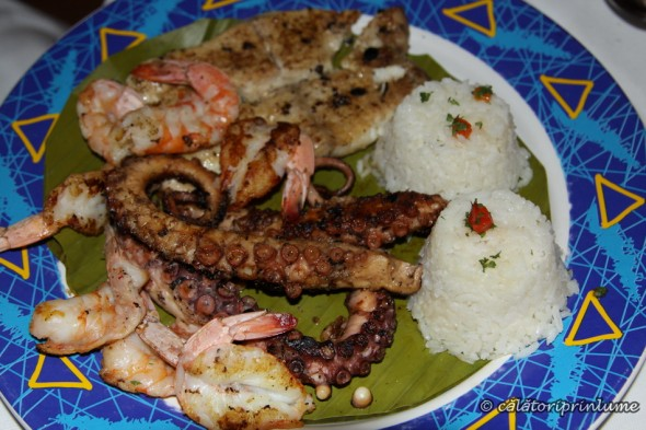 Seafood and fish - Villa Rica Restaurant, Veracruz, Mexic