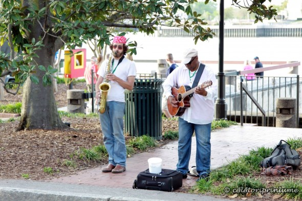 Savannah live music on the street