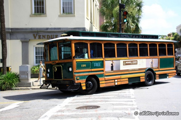 Trolley in Charleston