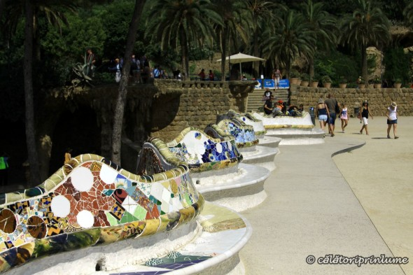 Barcelona Parc Guell - Teatro Grec