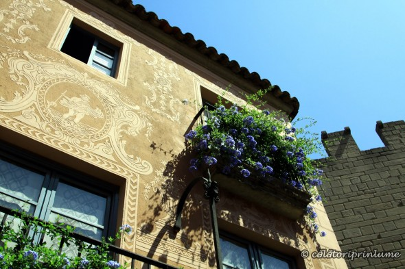 Barcelona - Pueblo Espaniol - beautiful house