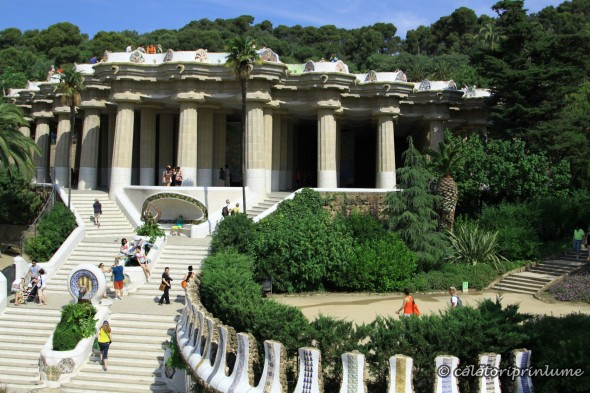 Parc Guell - scarile