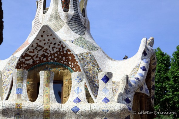 Parcul Guell - trecandis roof