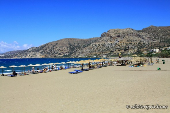 Crete Paleochora Beach