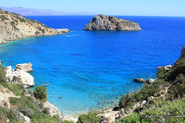 Crete beautiful secret beach