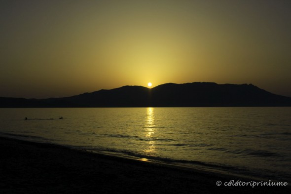 Sunset on Drapanias Beach Crete