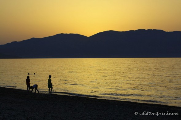 Sunset on the Beach Drapanias Crete