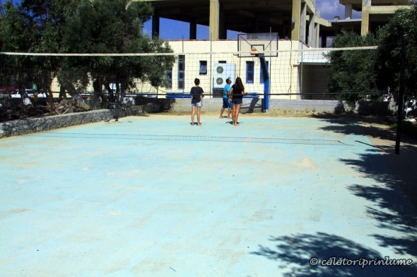 Camping Apollonia Basketball court