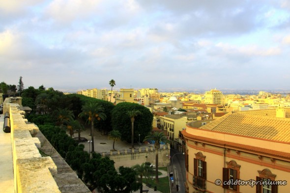 Cagliari View from Bastione San Remy