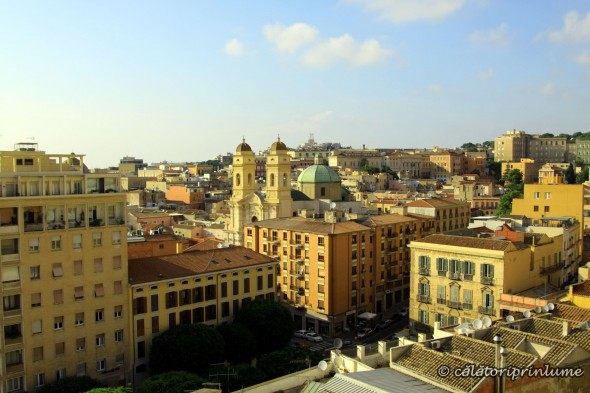 View from Torre del Elefante - Cagliari
