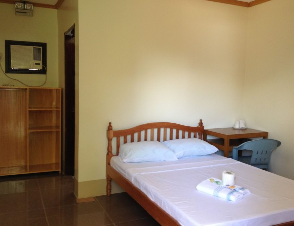 Inside Galaxy Pension Puerto Princesa
