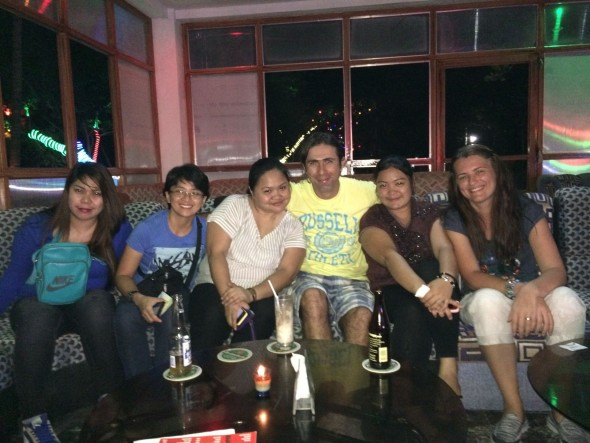Karaoke night out Puerto Princesa