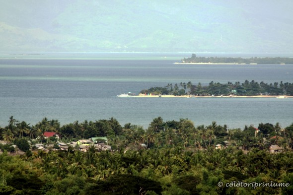 Puerto Princesa St. Monica Ranch view over Honda Bay